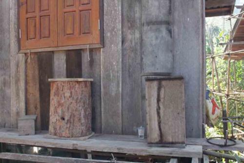 Ban Huay Khun Phra hives at house